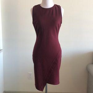 Dresses & Skirts - Maroon Sheath dress Small